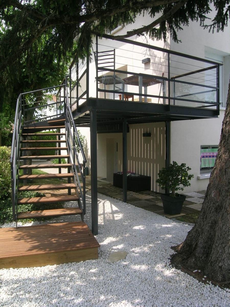 Escalier Extérieur - Angoulême (16)
